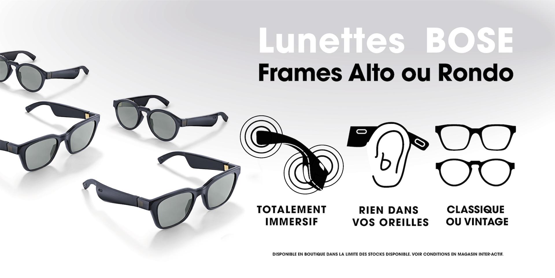 Bose Lunettes Frames Alto/Rondo